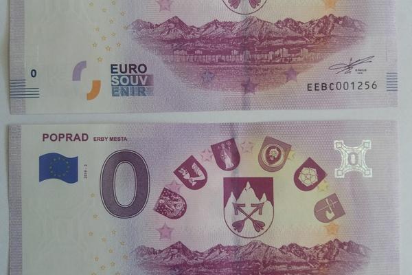 a2d95ae26 Nulová bankovka s tematikou erbov